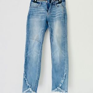 VIGOSS blue light wash skinny jeans